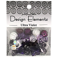 Buy Jesse James Beads Design Elements, Ultra Violet Online at johnlewis.com