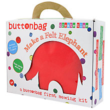 Buy Buttonbag Starter Kit, Elephant Online at johnlewis.com