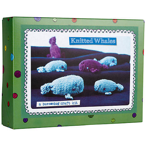 Buy Buttonbag Whales Craft Kit Online at johnlewis.com