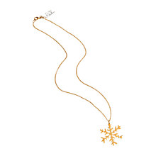 Buy Renaissance Life Year 5000 Summer Snow Pendant Necklace, Gold Online at johnlewis.com