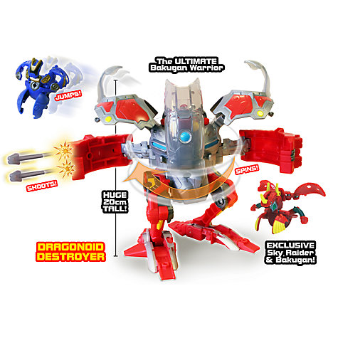 Buy Bakugan Dragonoid Destroyer Online at johnlewis.com