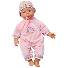 Buy Baby Born My Little Girl, Beginners' Doll Online at johnlewis.com