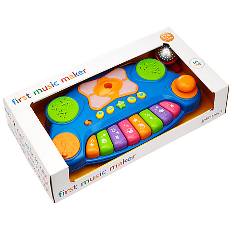 Buy John Lewis Baby Music Maker Toy Online at johnlewis.com