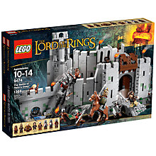 Buy LEGO Lord of the Rings The Battle of Helm's Deep Set Online at johnlewis.com