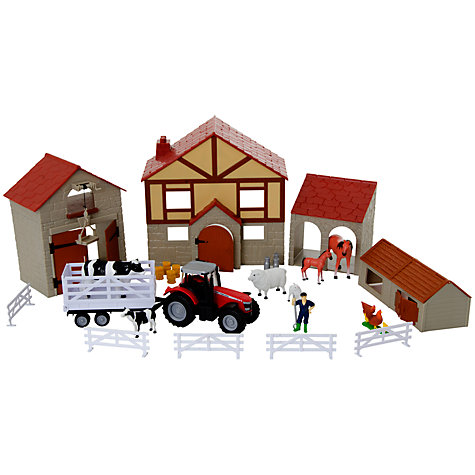 Buy Massey Ferguson Big Farm Set Online at johnlewis.com