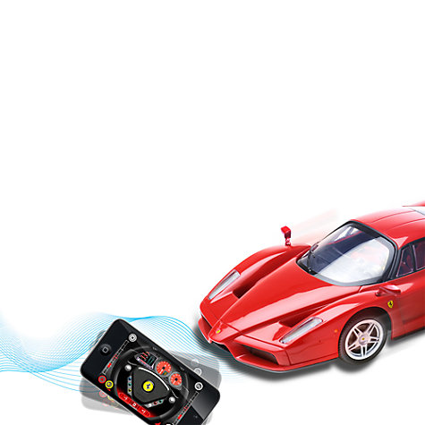 Buy Silverlit Interactive Bluetooth Remote Control Ferrari Online at johnlewis.com