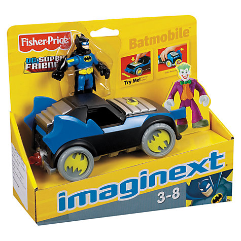 Buy Fisher-Price Batman DC Super Friends Vehicle, Assorted Online at johnlewis.com