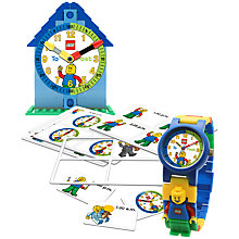 Buy LEGO Time Teacher, Blue Online at johnlewis.com