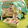 Buy Sylvanian Camper Van Set Online at johnlewis.com