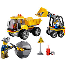Buy Lego City Loader and Tipper Online at johnlewis.com