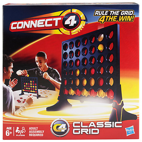 Buy Hasbro Connect 4 Grid Game Online at johnlewis.com