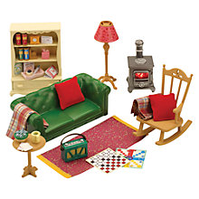 Buy Sylvanian Families, Cosy Living Furniture Set Online at johnlewis.com