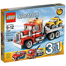 Buy LEGO Creator 3 in 1 Highway Pickup Truck Online at johnlewis.com