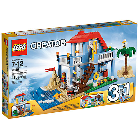 Buy LEGO Creator 3 in 1 Seaside House Online at johnlewis.com