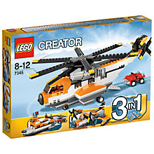 Buy LEGO Creator 3-in-1 Transport Chopper Online at johnlewis.com