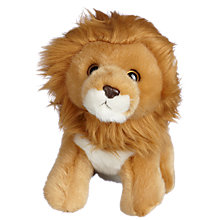 "Buy John Lewis Cuddly Wild Animal 8.5"" Soft Toy, Assorted Online at johnlewis.com"