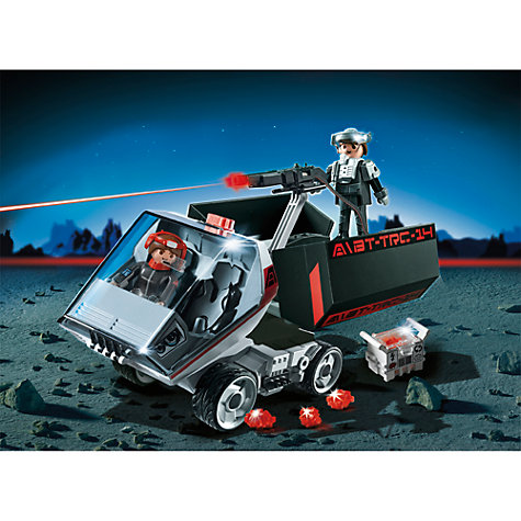Buy Playmobil Dark Rangers Truck Online at johnlewis.com