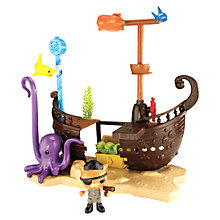 Buy Fisher Price Octonauts Deluxe Playset Online at johnlewis.com