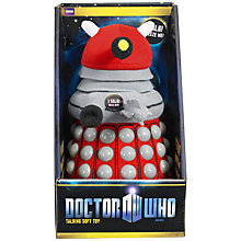 Buy Doctor Who Talking Dalek Plush Toy, Assorted Online at johnlewis.com