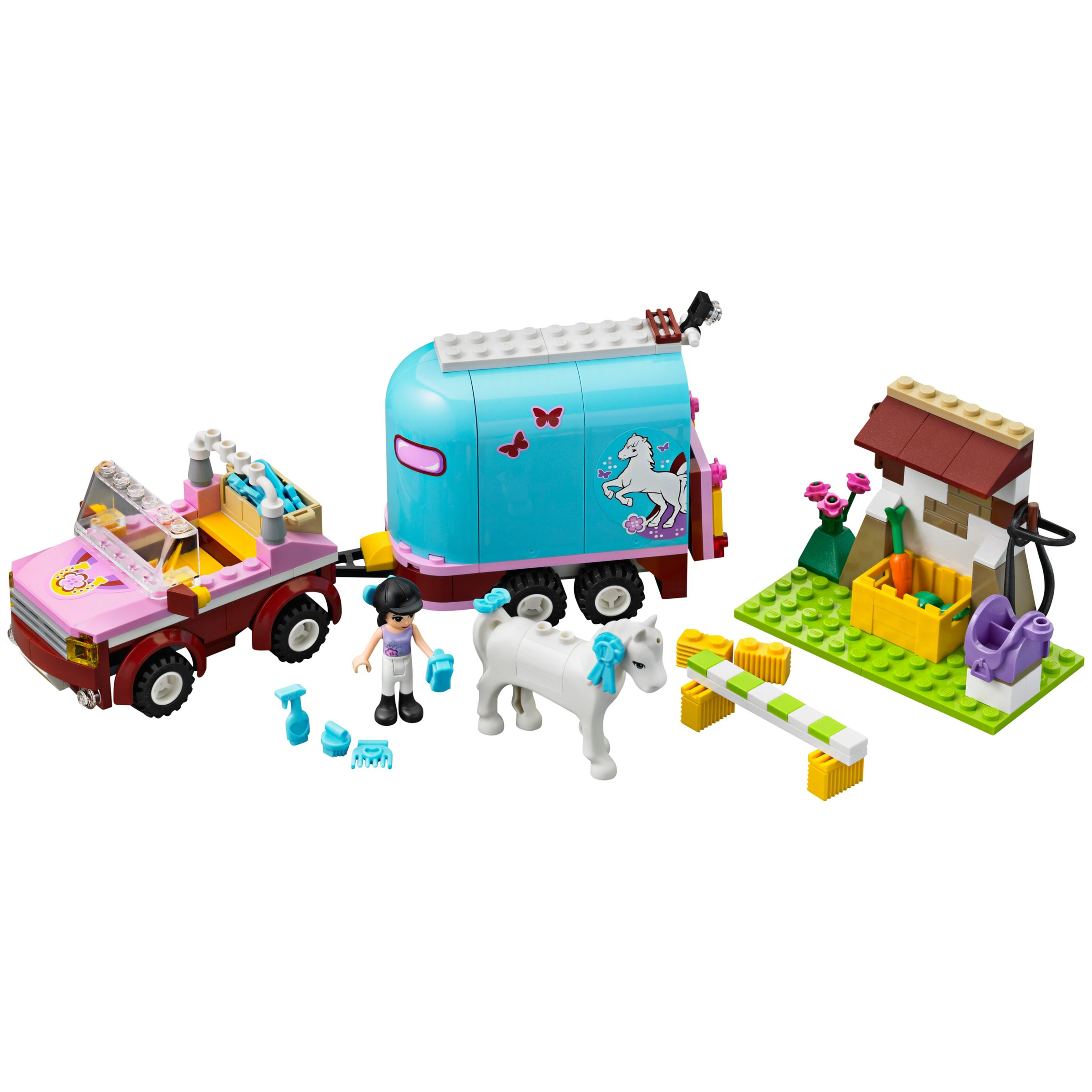 How To Build Lego Friends Emma S Horse Trailer