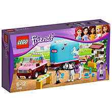 Buy Lego Friends Emma's Horse Trailer Online at johnlewis.com