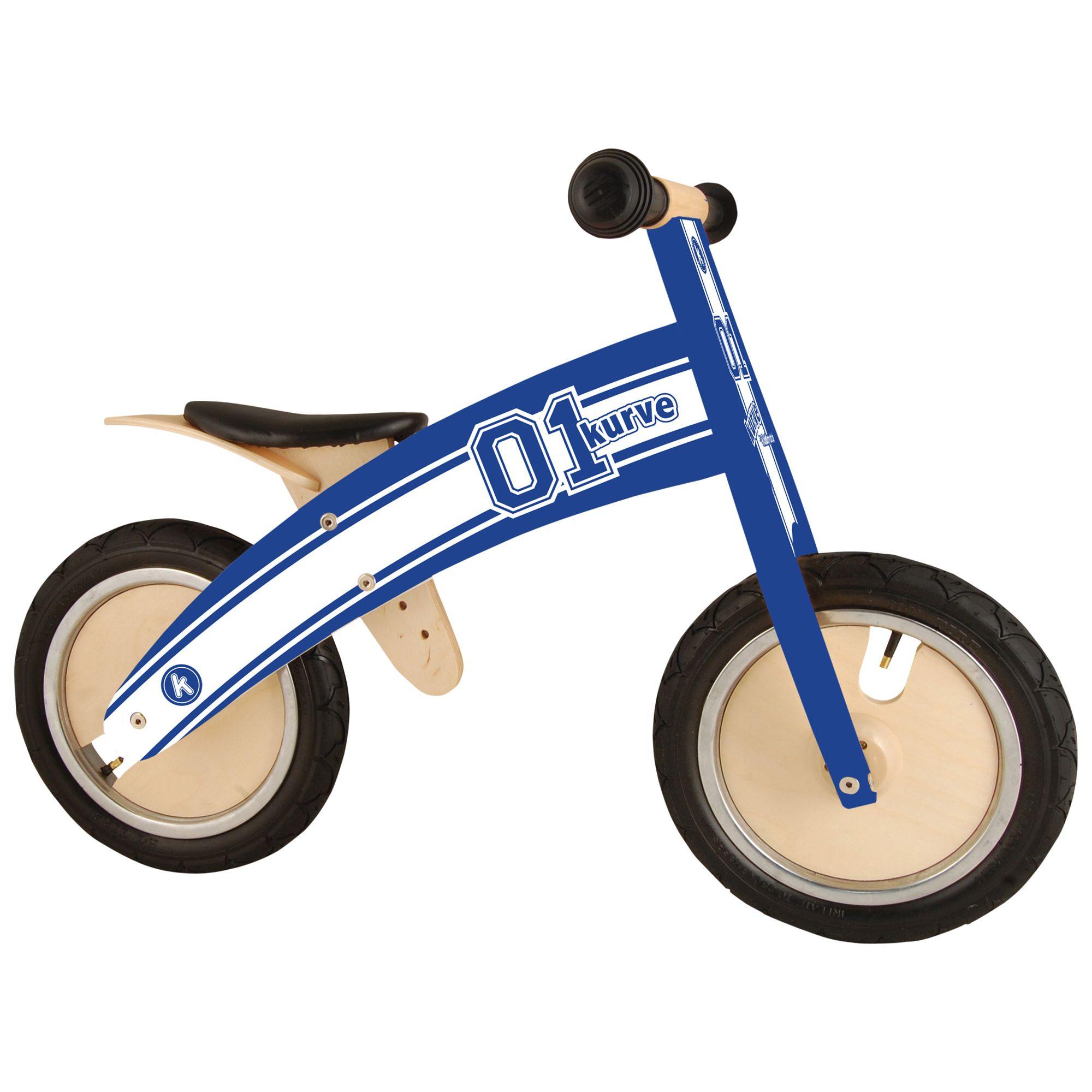 Kiddimoto Kurve Bike, Blue