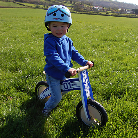 Buy Kiddimoto Kurve Bike, Blue Online at johnlewis.com
