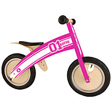 Buy Kiddimoto Kurve Bike, Pink Online at johnlewis.com
