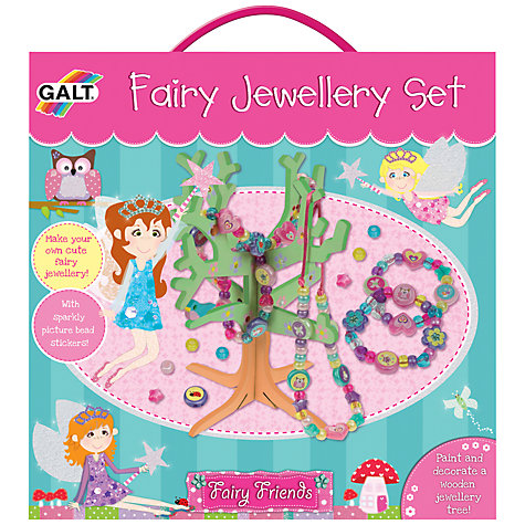 Buy Galt Fairy Jewellery Making Set Online at johnlewis.com