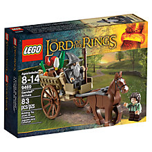 Buy LEGO Lord of the Rings Gandalf Arrives Online at johnlewis.com