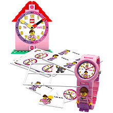 Buy LEGO Time Teacher, Pink Online at johnlewis.com