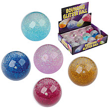 Buy Bouncing Glitter Jet Ball, Assorted Online at johnlewis.com