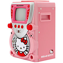 Buy Hello Kitty Karaoke System With Screen Online at johnlewis.com