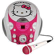 Buy Hello Kitty Portable Karaoke Set Online at johnlewis.com