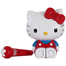 Buy Hello Kitty Sing Along Karaoke System Online at johnlewis.com