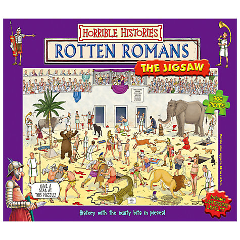 Buy Horrible Histories Puzzle, 300 Pieces, Assorted Online at johnlewis.com