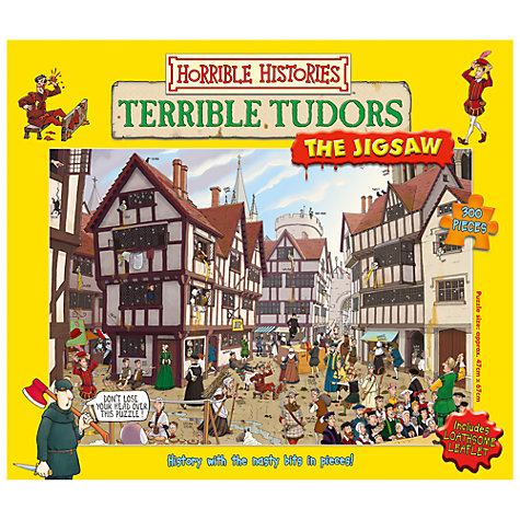 Buy Horrible Histories Jigsaw Puzzle, 300 Pieces, Assorted Online at johnlewis.com