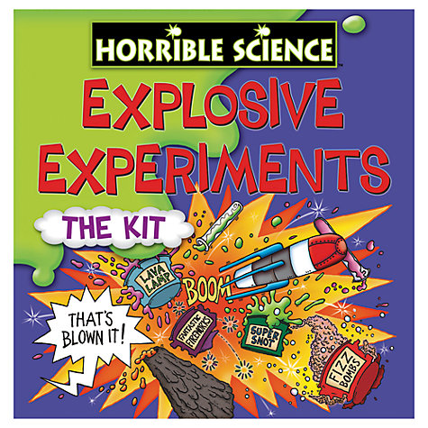 Buy Horrible Science Experiments, Assorted Online at johnlewis.com