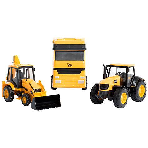 Buy JCB Transporter and Vehicles Set Online at johnlewis.com