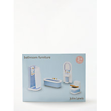 Buy John Lewis Doll's House Accessories, Bathroom Online at johnlewis.com