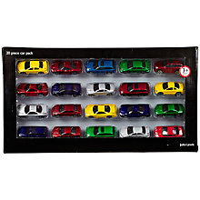 Buy John Lewis Die-Cast Cars, Pack of 20 Online at johnlewis.com