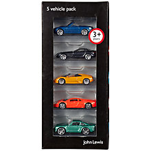 Buy John Lewis Vehicle Set, Pack of 5, Multi Online at johnlewis.com