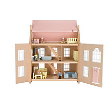 Buy Complete John Lewis Doll House Set Online at johnlewis.com