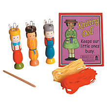Buy House of Marbles Knitting Doll Online at johnlewis.com