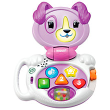 Buy LeapFrog My Talking LapPup, Violet Online at johnlewis.com