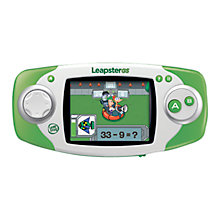 Buy LeapFrog Leapster GS Explorer™, Green Online at johnlewis.com