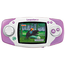 Buy LeapFrog Leapster GS Explorer™, Pink Online at johnlewis.com