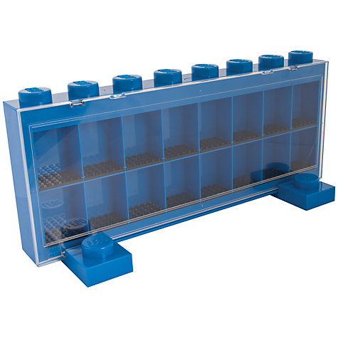 Buy LEGO Minifigure Display Case, Assorted Online at johnlewis.com