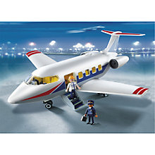 Buy Playmobil Leisure Jet Online at johnlewis.com