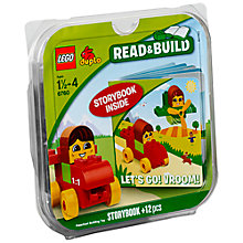 Buy Lego Duplo Bricks and Book Set, Lets Go Vroom Online at johnlewis.com